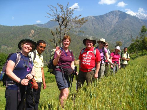 India - Dalai Lama Trek Participants